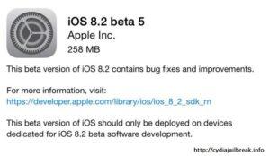 iOS 8.2 beta5