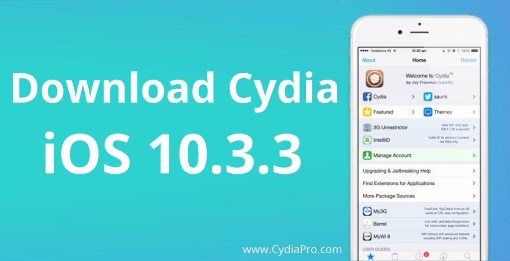 iOS 10.3.3 Cydia