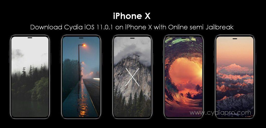 download cydia iOS 11.0.1 on iPhone X