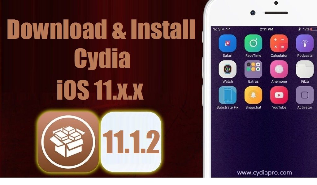 Cydia iOS 11.1.2