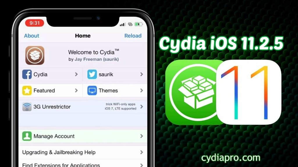 Cydia Download iOS 11.2.5