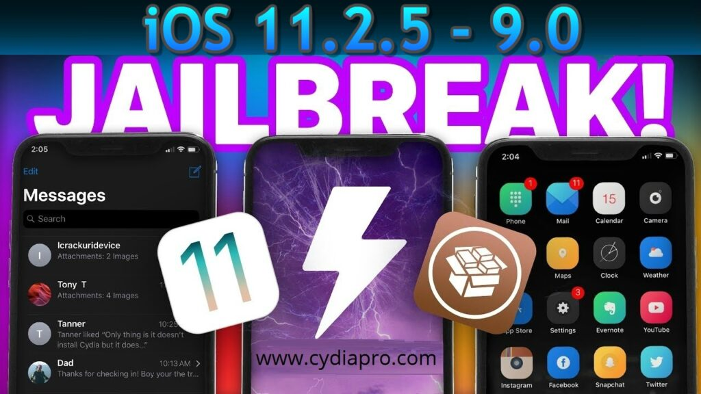 iOS 11.2.5 semi jailbreak