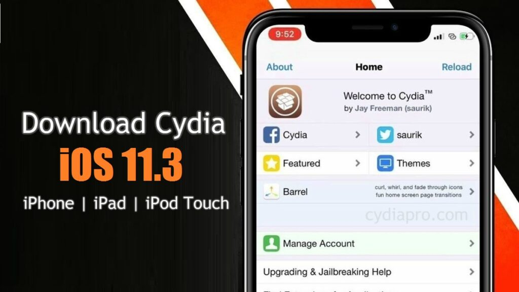 Download Cydia on iOS 11.3