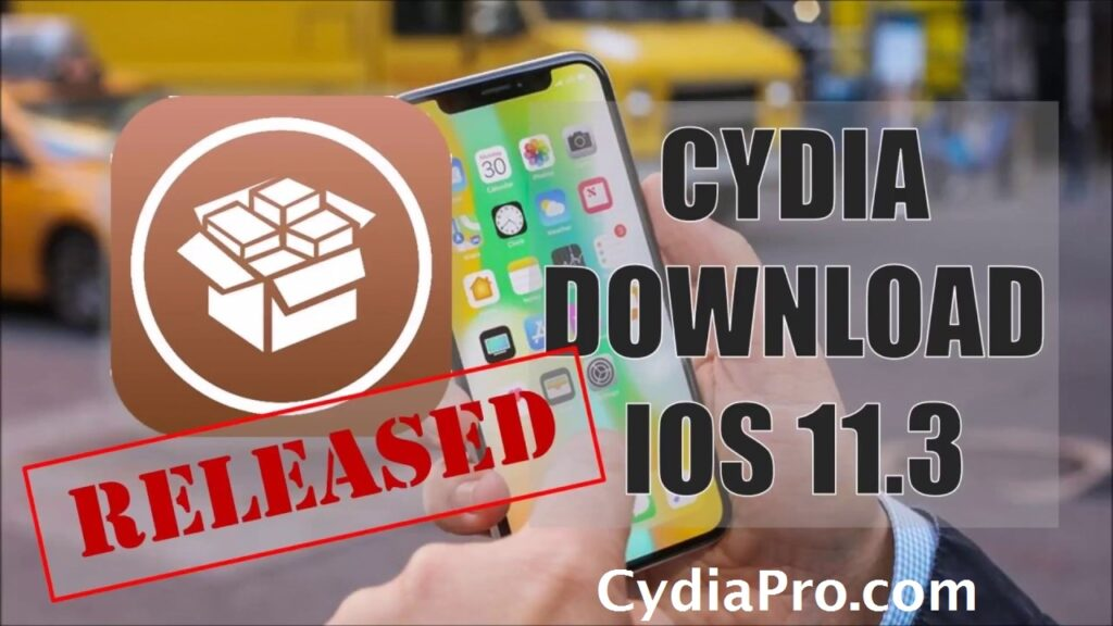 Cydia on iOS 11.3