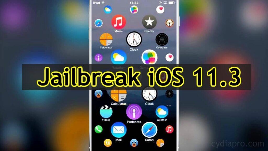 iOS 11.3 Cydia Installer