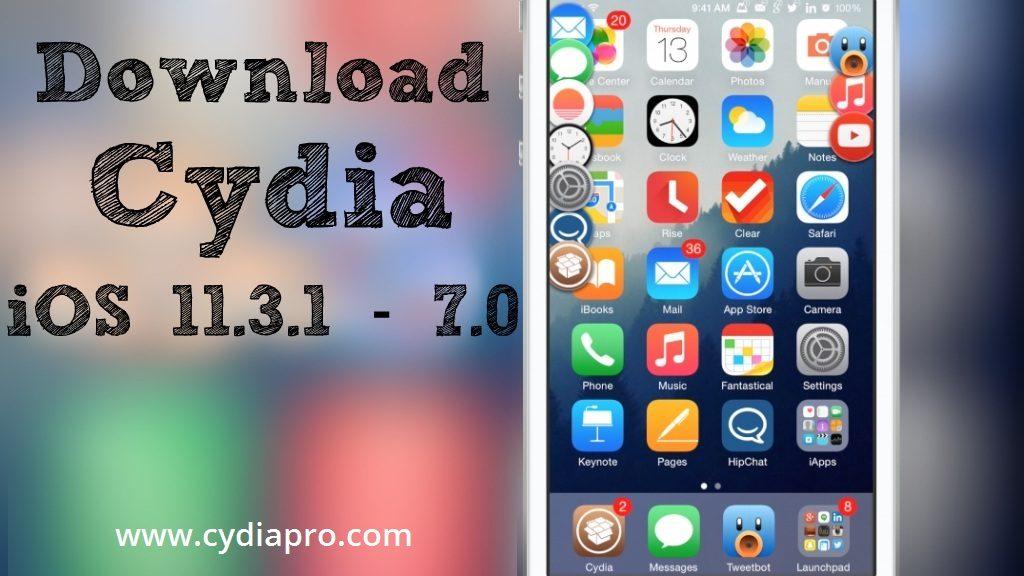 Cydia iOS 11.3.1 free