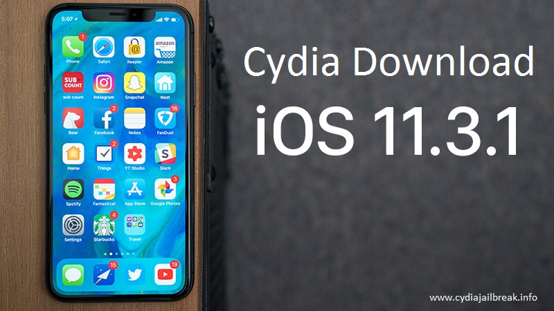 cydia download ios 11.3.1