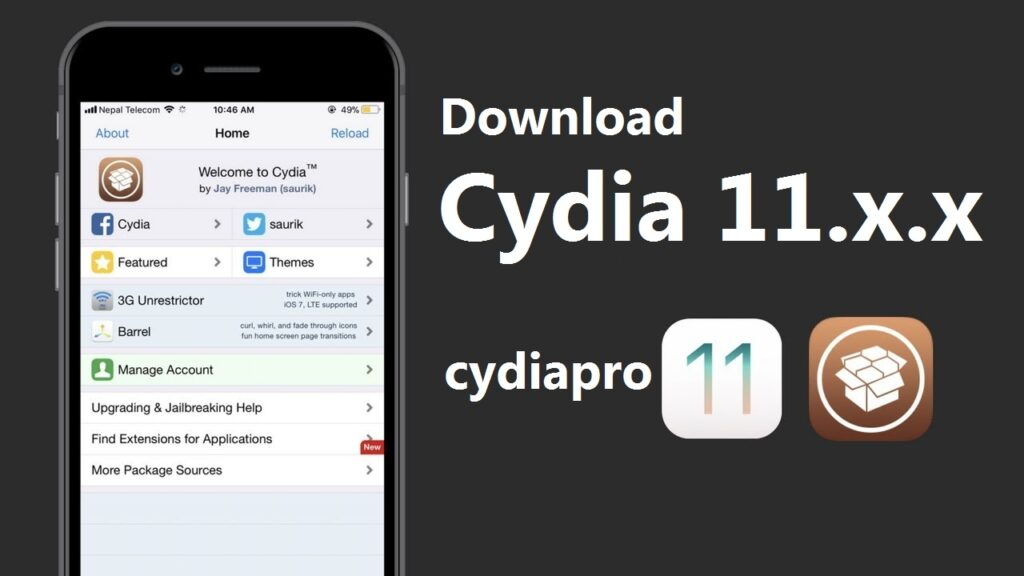 Cydia for iOS 11.4