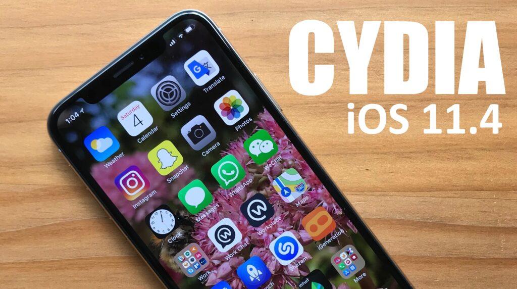 Download Cydia iOS 11.4 Efforts