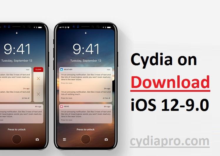 Cydia on iOS 12