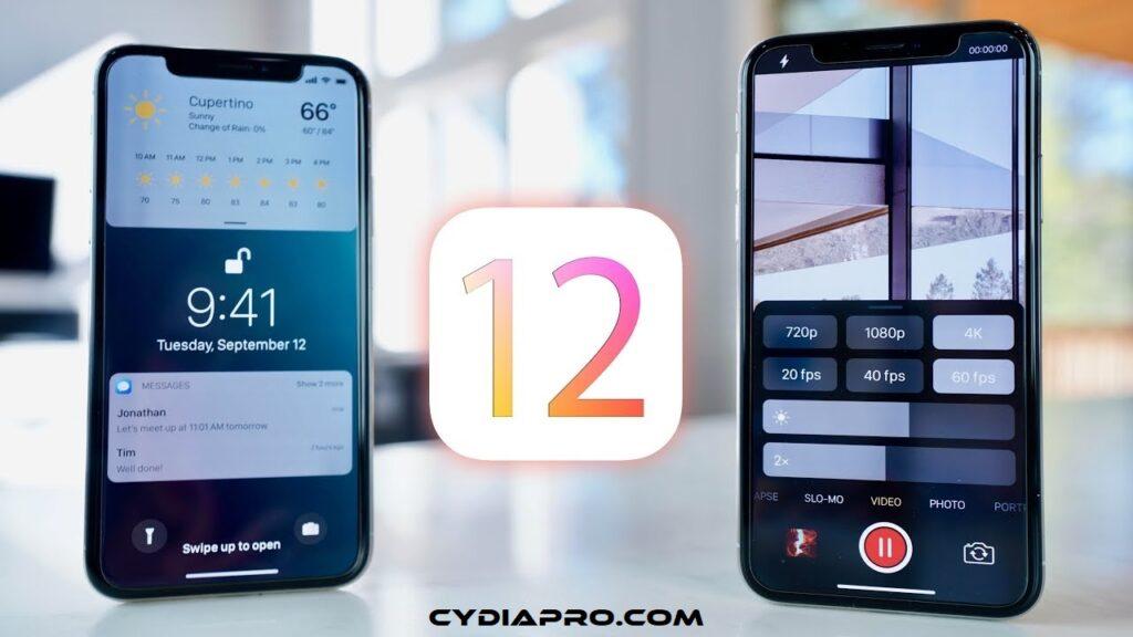 Cyda on iOS 12