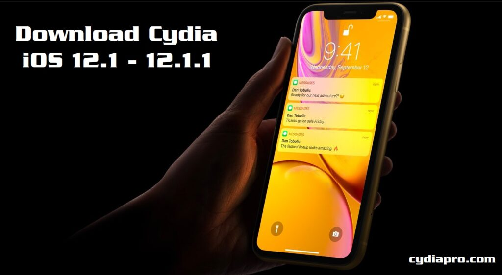 iPhone X Cydia on iOS 12.1.1