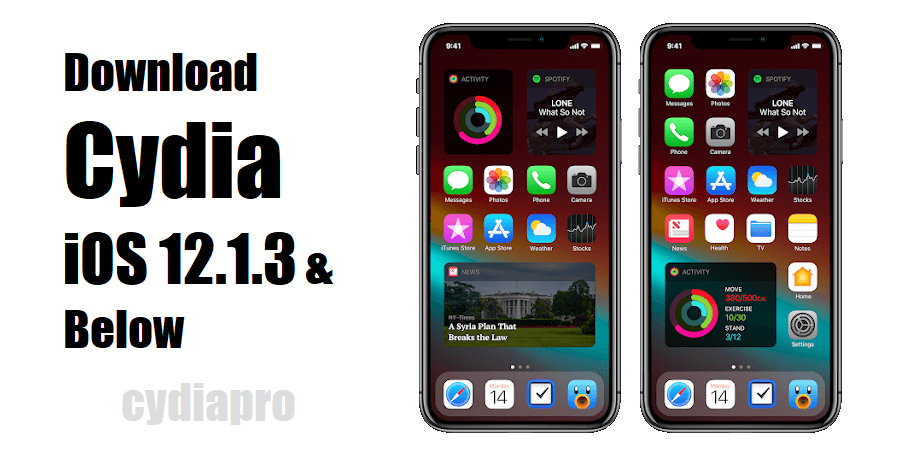 Install Cydia on iOS 12.1.3