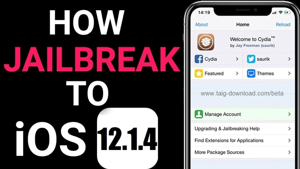 Download Jailbreak iOS 12.1.4Download Jailbreak iOS 12.1.4