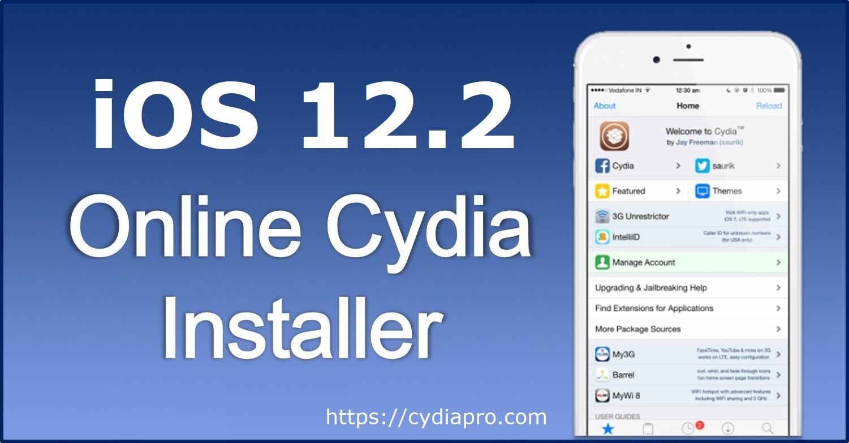 iOS 12.2 Cydia Installer