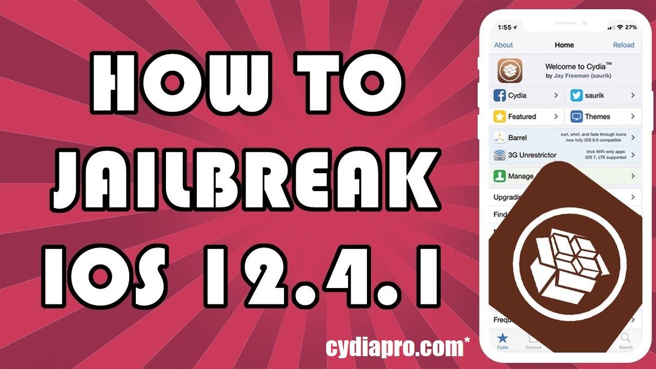 Cydia on iOS 12.4.1