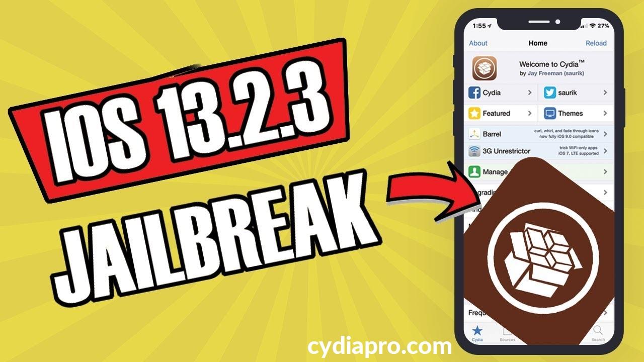 Cydia on iOS 13.2.3