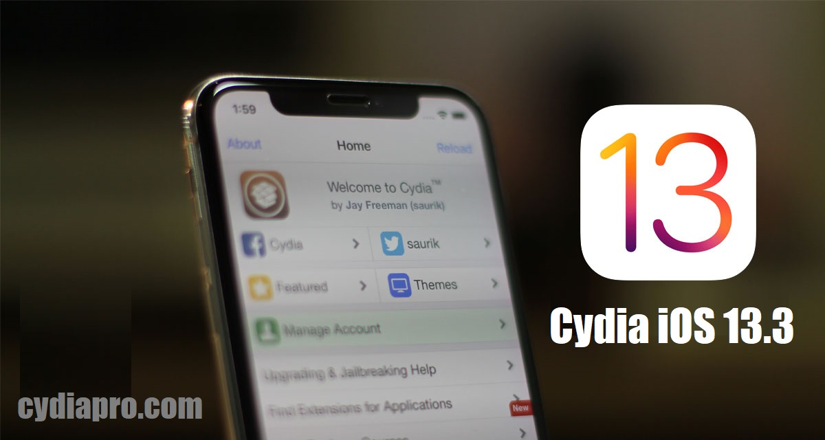 Download Cydia on iOS 13.3