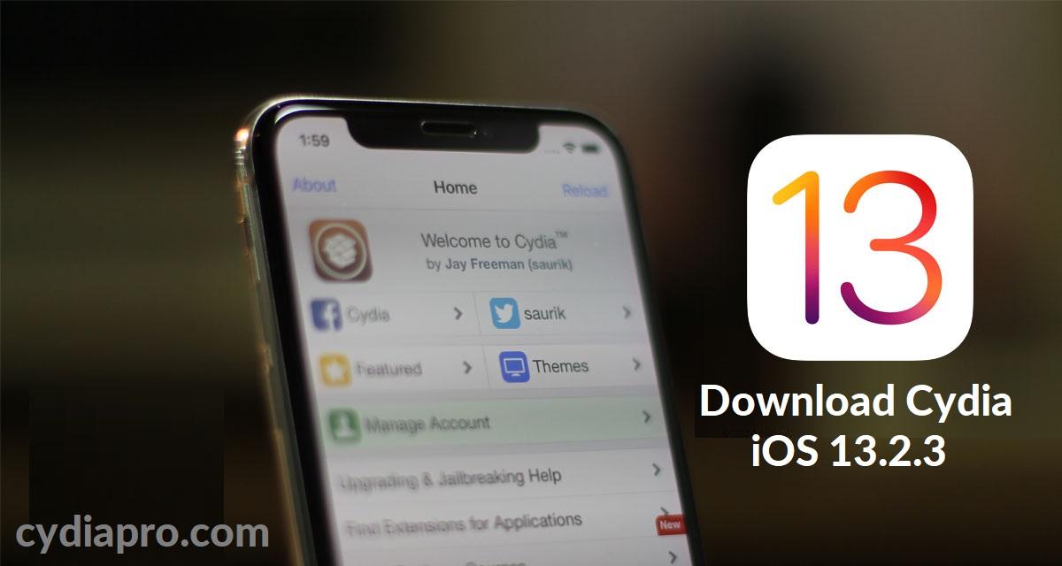 iOS 13.2.3 Cydia Installer