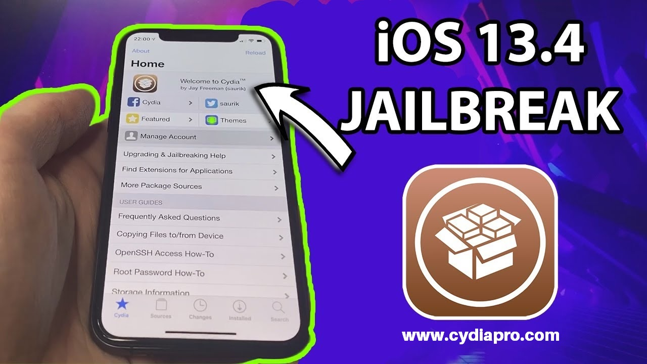 Download Cydia iOS 13.4