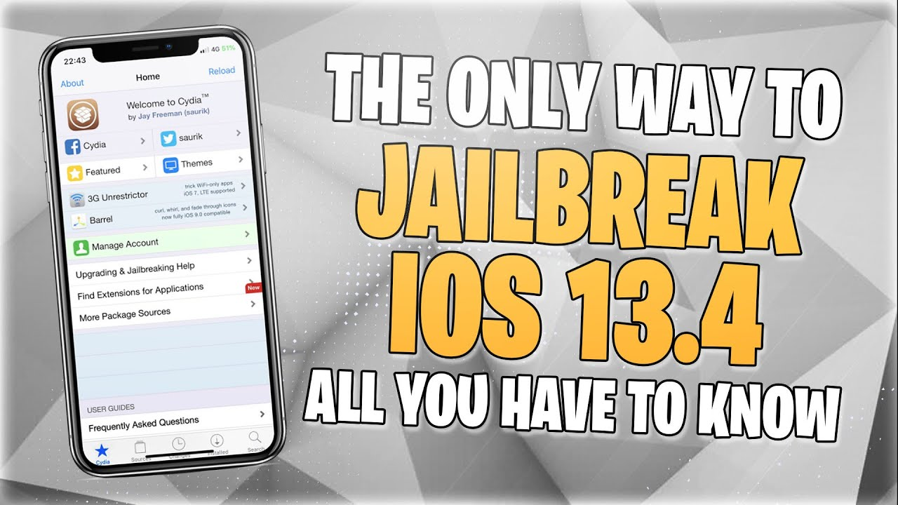 iOS 13.4 Released - How to Jailbreak iOS 13.4