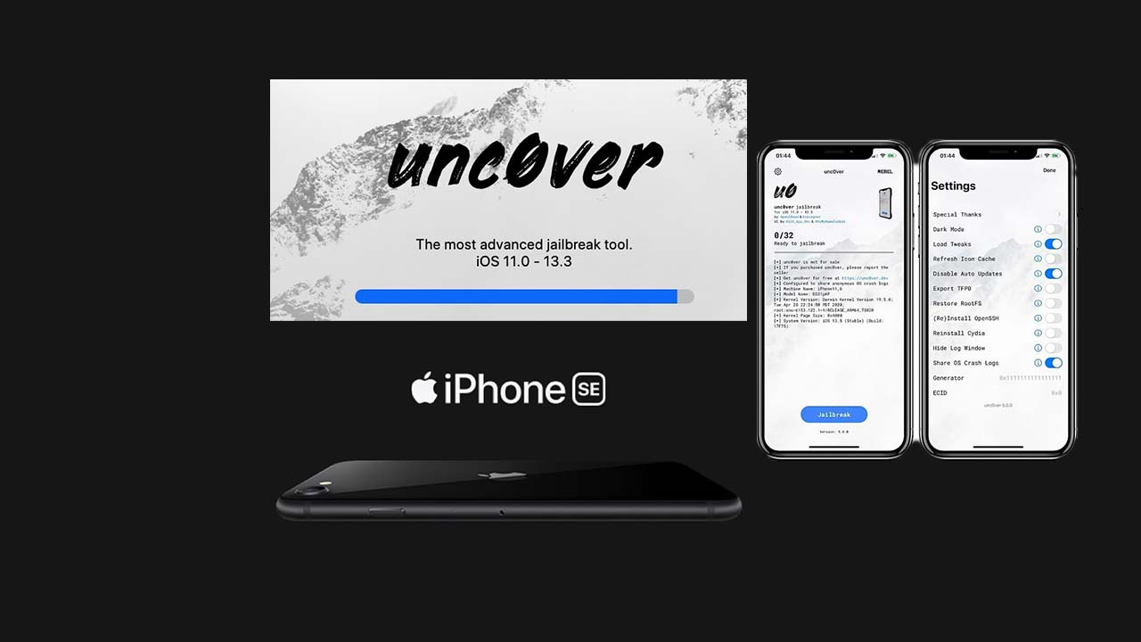 jailbreak iOS 13 with uncover